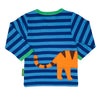 Image of Tiger Wrap Around Long-sleeved T-Shirt - Organic Cotton