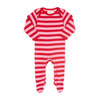Image of Organic Cotton - Apple Babygrows 2 Pack