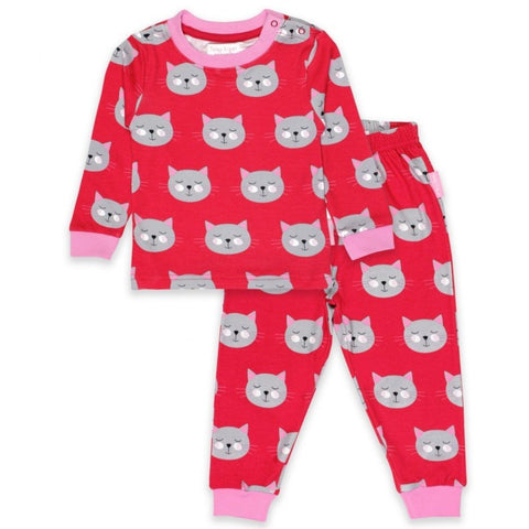 Toby Tiger Cat Pyjamas - Organic Cotton
