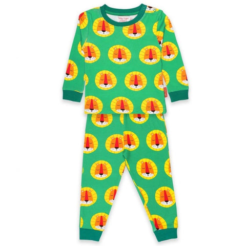 Image of Toby Tiger Lion Pyjamas - Organic Cotton