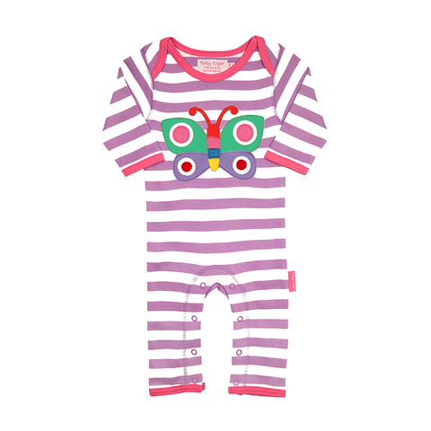 Organic Cotton - Butterfly Sleepsuit