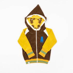 Alba Robin Zipper Hood - Ceylon Yellow