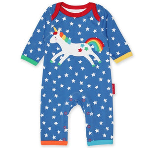 Toby Tiger Unicorn Sleepsuit