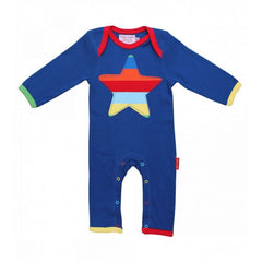 Organic Cotton - Multi Star Sleepsuit
