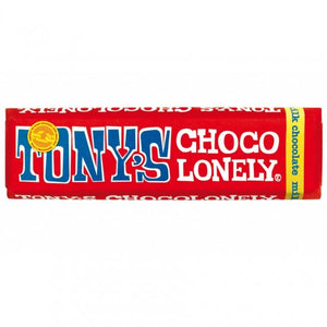 Tony's Chocolonely Milk Fairtrade Chocolate 50g
