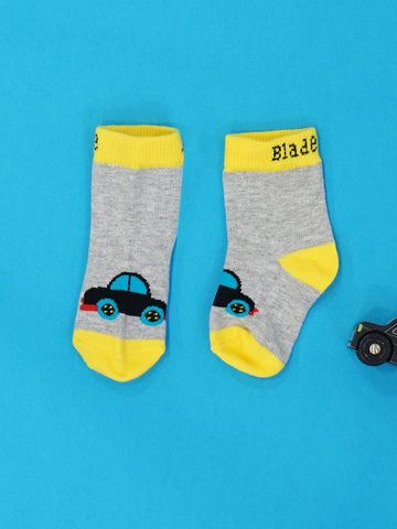 Blade & Rose Socks - Vroom Vroom Car
