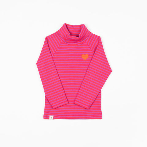 Image of Alba Westwind Highneck - Dahlia Magic Stripes