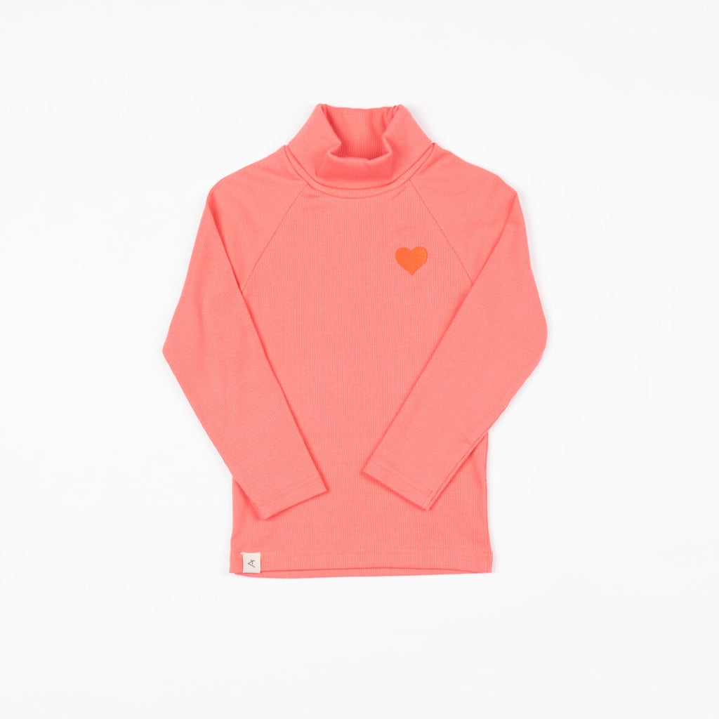 Alba Westwind Highneck - Sun Kissed Coral