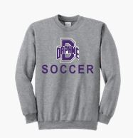 DHS SOCCER CREW COTTON SWEATSHIRT