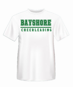 Bayshore Cheerleading DRY FIT Tshirt