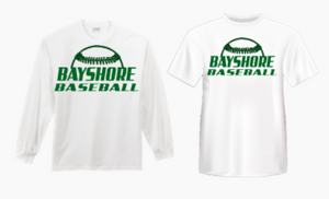 BAYSHORE BASEBALL SHORT SLEEVE SHIRT