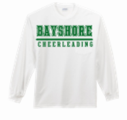 LONG SLEEVE DRI FIT BAYSHORE CHEERLEADING