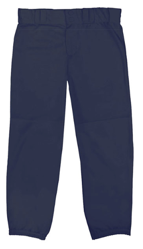 NAVY ALLESON SOFTBALL PANTS WITH PIPING ELEMENTARY MOBILE CHRISTIAN