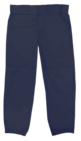 NAVY BADGER SOFTBALL PANTS WITH PIPING ELEMENTARY MOBILE CHRISTIAN