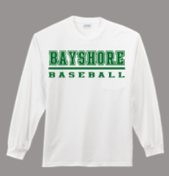 BAYSHORE BASEBALL LONG SLEEVE SHIRT