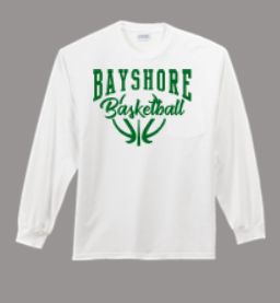 BAYSHORE BASKETBALL LONG SLEEVE SHIRT