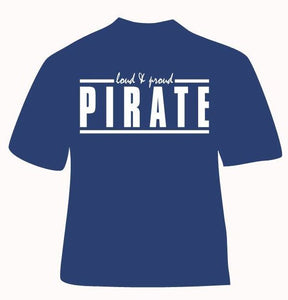 Fairhope Pirate Short Sleeve Gildan