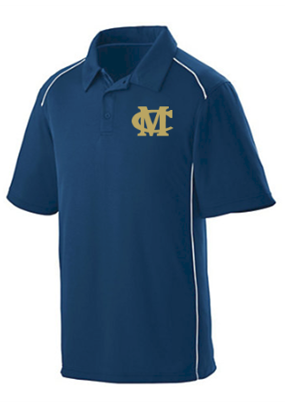 MOBILE CHRISTIAN NAVY POLO