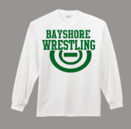 BAYSHORE WRESTLING LONG SLEEVE SHIRT