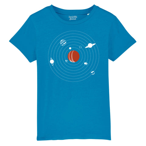 Everything Revolves Around Cricket T Shirt - Kids
