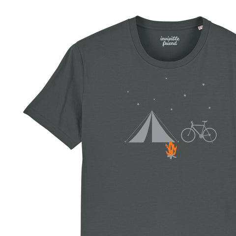 Bike and Tent T Shirt
