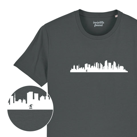 City Skateboard T Shirt