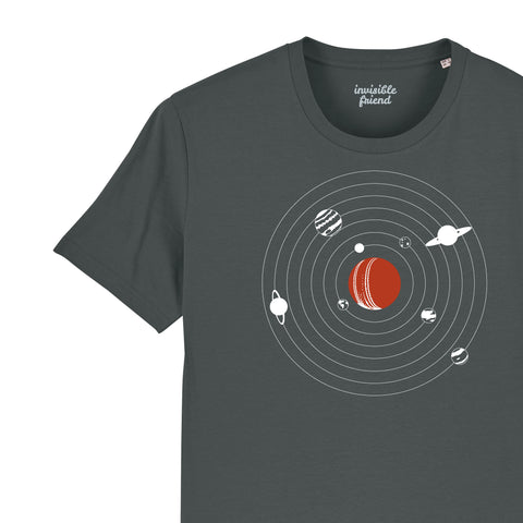 Everything Revolves Around Cricket T Shirt