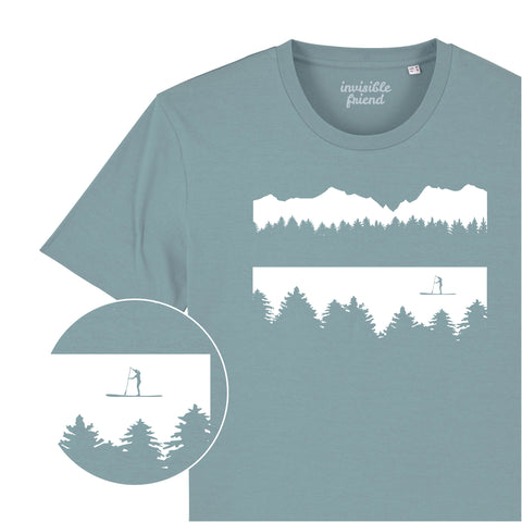 Paddle Board (Female Paddle Boarder) T Shirt
