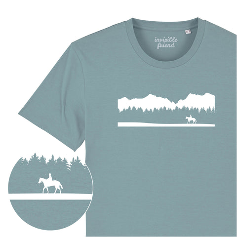 Horseback Wilderness T Shirt