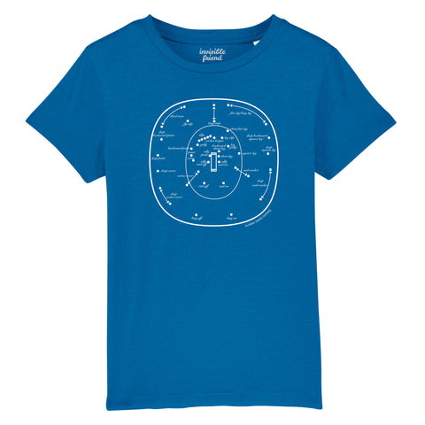 Cricket Fielding Positions T Shirt - Kids