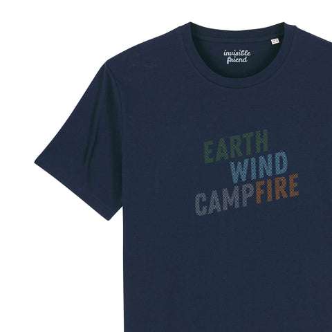 Earth Wind (Camp)Fire T Shirt