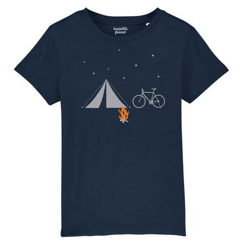 Bike and Tent T Shirt - Kids
