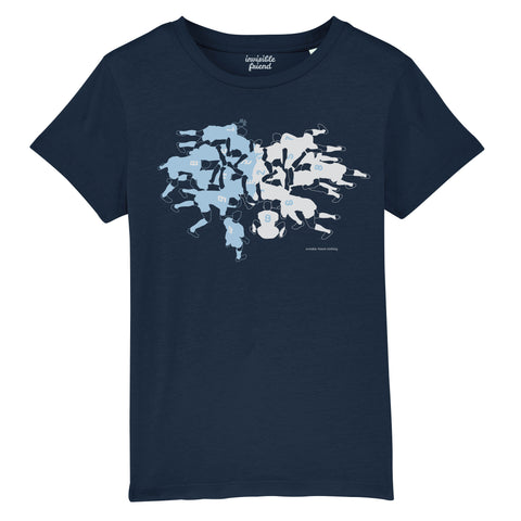 Rugby Scrum T Shirt - Kids