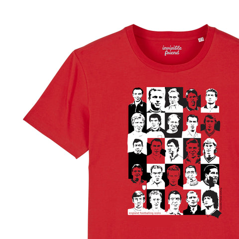 English Footballing Icons T-shirt