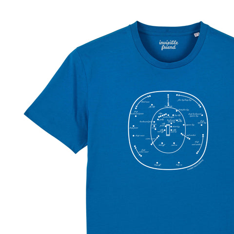 Cricket Fielding Positions T-shirt