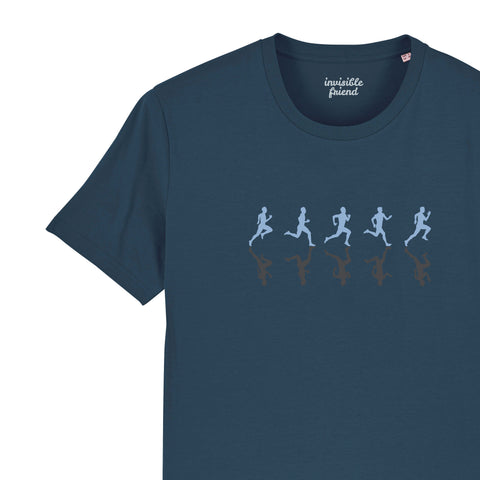 Runners T Shirt in Reflective Print