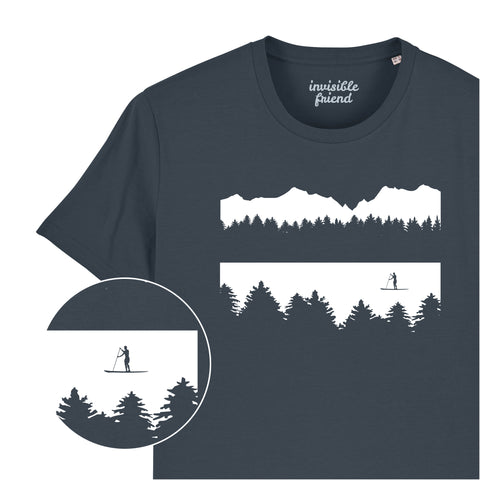 Paddle Board (Male Paddle Boarder) T Shirt