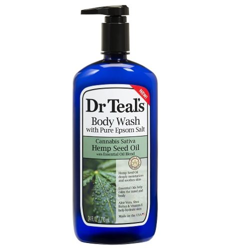 Dr Teal's Hemp with Seed Oil & Pure Epsom Salt Body Wash 24oz 4/4