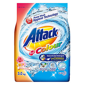 Attack Powder +Colour 3KG/6
