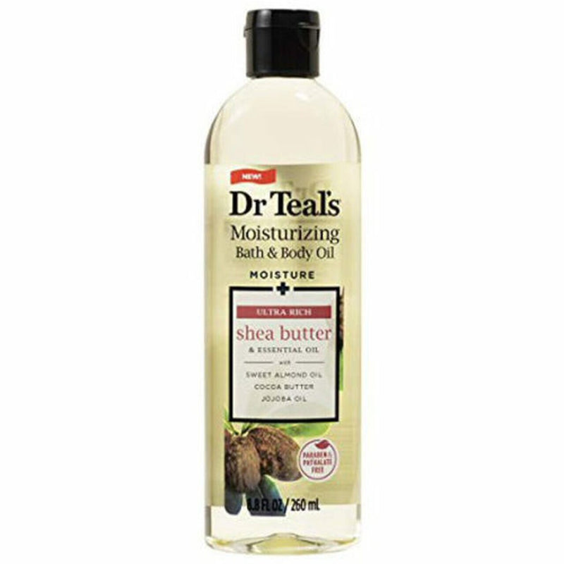 Dr Teal's Shea Butter Bath and Body Oil 8.8oz 6/6