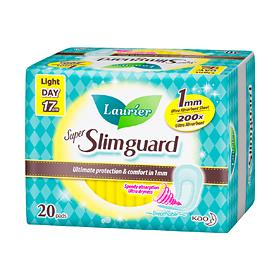Laurier Super Slimguard Light Flow 17CM 20S/36