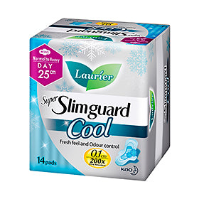 Laurier Super Slimguard Cool Day 25cm 14S/12