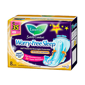 Laurier Worry Free Sleep with Gathers 35CM 8'S/24