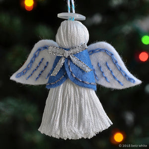 Angel Ornament PDF PATTERN