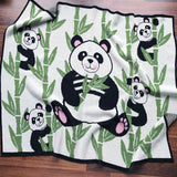 Eco-tot Blanket: Panda (Last chance, only one left!)