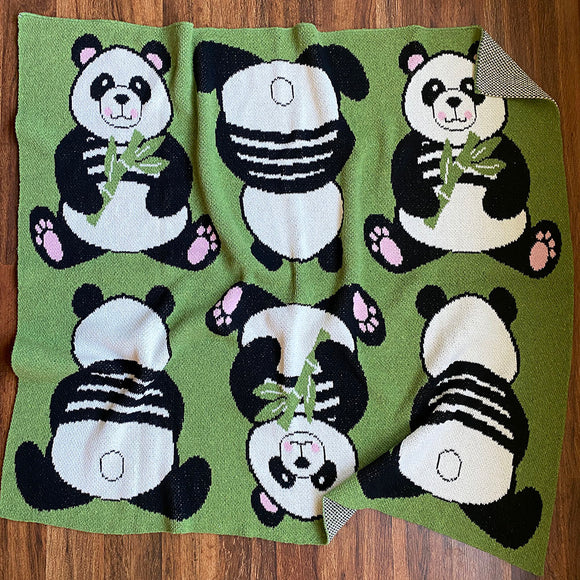 Eco-tot Blanket: Parade of Pandas
