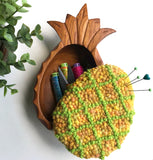 Handcrafted Keeper - Yellow Heather/Green Pineapple