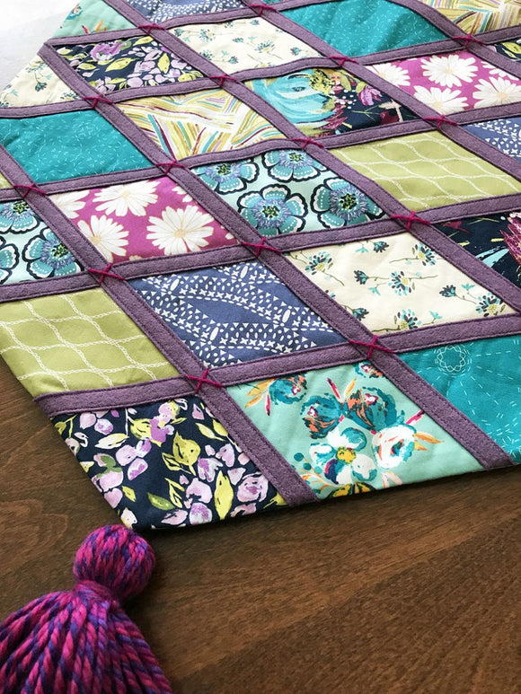 Boho Patchwork Wallhanging