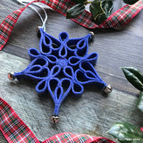 Filigree Snowflake Ornament PDF PATTERN
