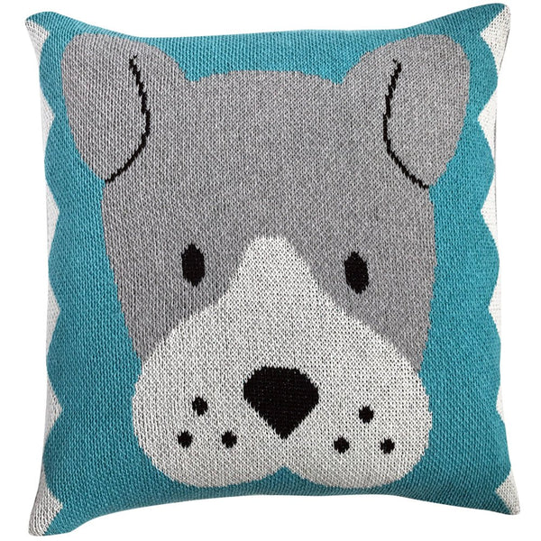 Eco-Tot Pillow Cover: Hound